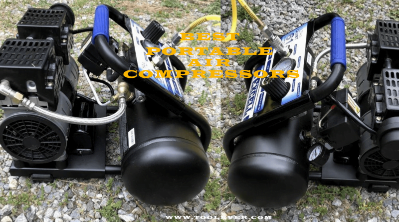 portable air compressors toolever