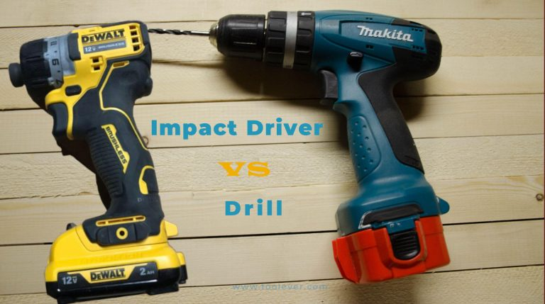 impact driver vs drill - which one to buy