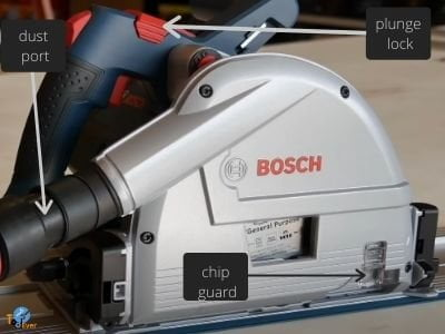 parts of bosch tracksaw