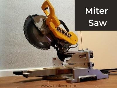 electric saw type - miter saw