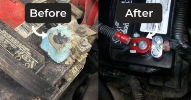 cleaning corroded battery terminals