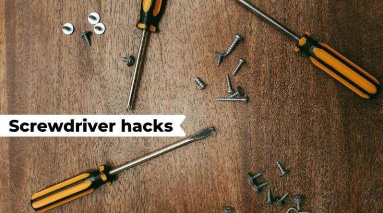 screwdriver hacks
