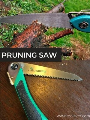 pruning saw with folding blade