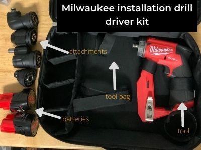 milwaukee drill driver kit