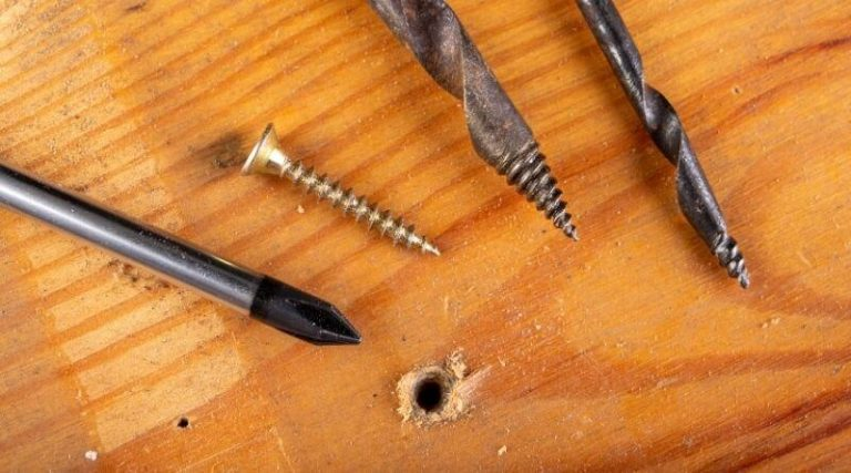 How to fix a stripped screw hole in wood