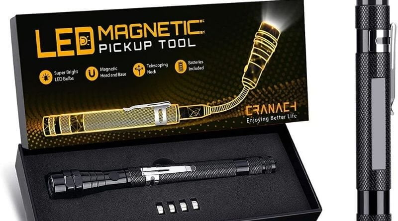 cranach magnetic pickup tool with LED review